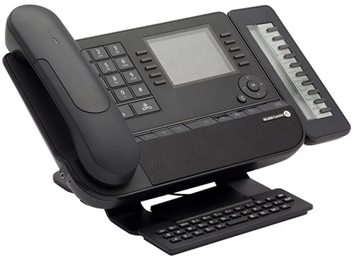 Phone: Alcatel-Lucent Desk Phone 8068 with add-on module